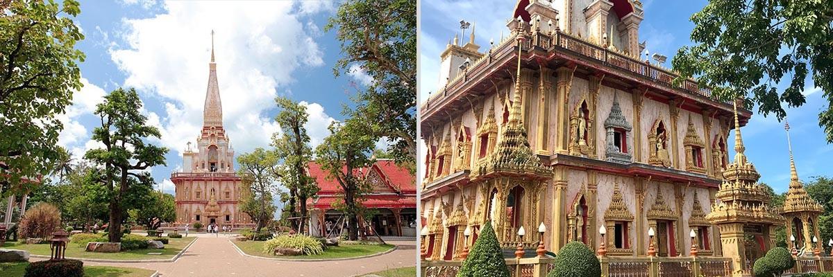 普吉岛查龙寺设计